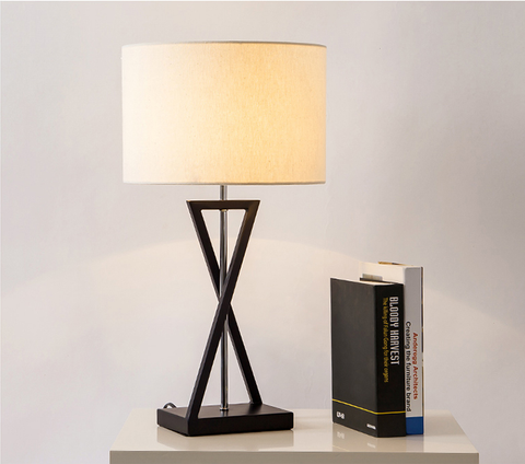 Contemporary Scandinavian Modern Asymmetry Design Table Lamp