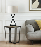 Asymmetry table lamp