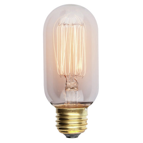 T45 Loft Lighting Antique Light Bulb Nostalgic Lamp Cage Lamp Enhance Decor 120V