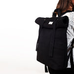 Black Rolltop Backpack