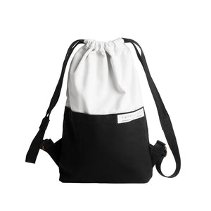 Black & White Sackpack