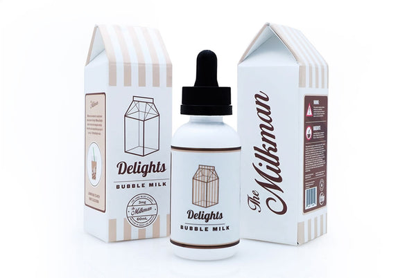 Bubble Milk by Milkman Delights 60ml 0-6mg