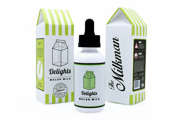 Melon Milk fra Milkman Delights - 60ml 0-6mg