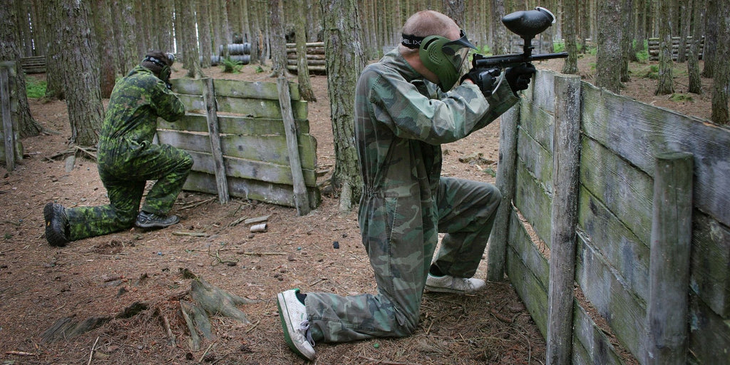 Paintball stag do UK