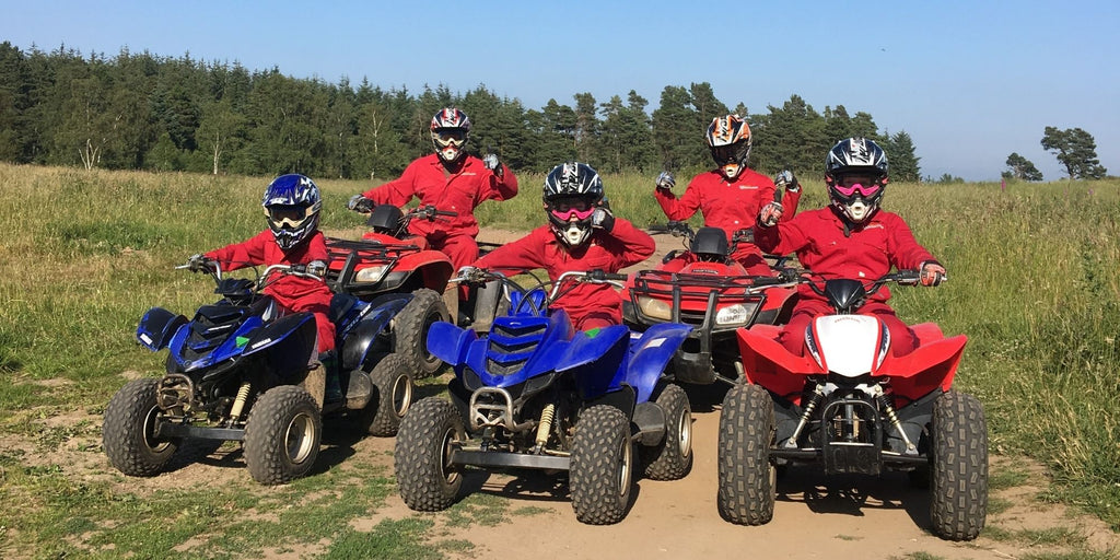 family quad biking
