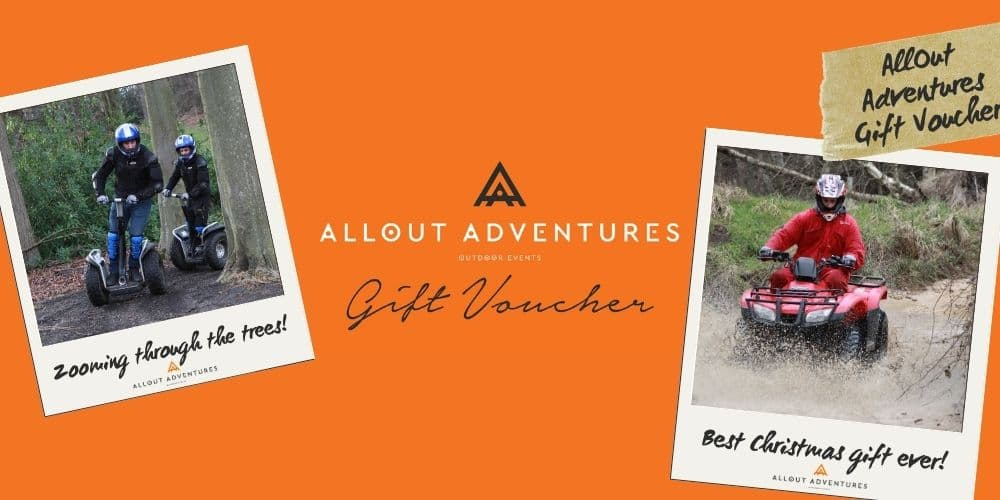outdoor activity Christmas gift voucher
