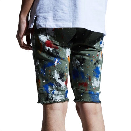 EMBELLISH 'Beckham' Shorts