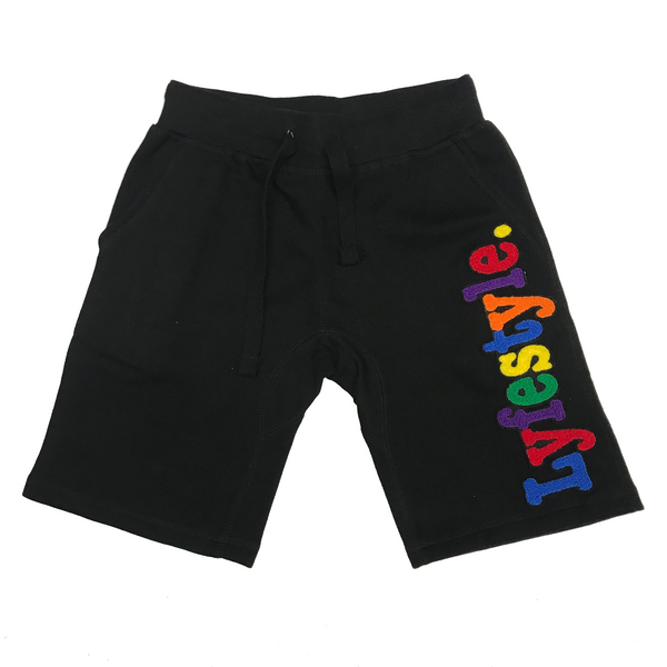 LYFESTYLE 'Multi Color' Shorts