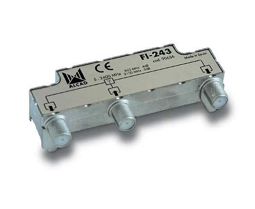 FI-243 IF splitter, 2 outputs