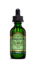 Photo of full spectrum cannabinoid hemp tincture in green bottle, 50 milliliters, 400 milligram