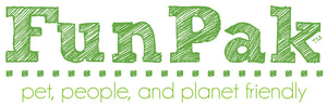FunPak logo Pet, People & Planet Friendly