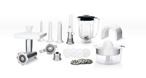 Assistent Original Food Mixer - Jubilee Silver - Deluxe