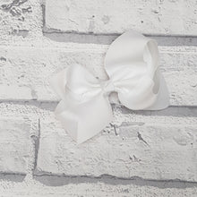 Load image into Gallery viewer, White Hair Bow