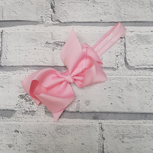 Light Pink Hair Bow