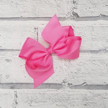 Load image into Gallery viewer, Dark Pink Hair Bow