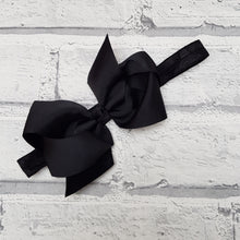 Load image into Gallery viewer, Black Hair Bow