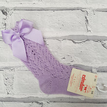 Load image into Gallery viewer, Condor Lilac Summer Sock