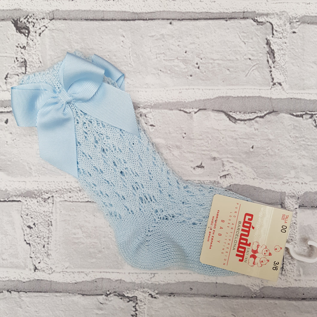Condor Blue Summer Sock