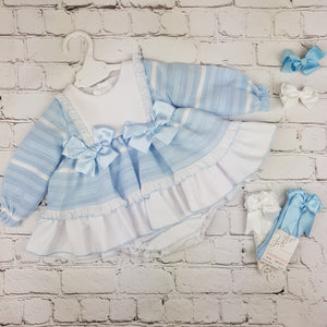 WM Blue Stripe Dress