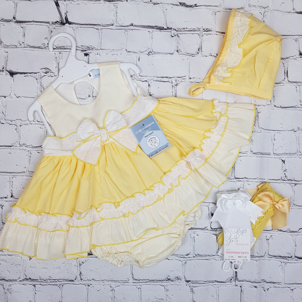 Ceyber Lemon Baby Dress