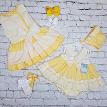 Load image into Gallery viewer, Ceyber Girls Lemon Dress
