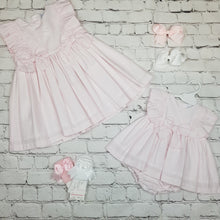 Load image into Gallery viewer, Ceyber Girls Pink Stripe Dress