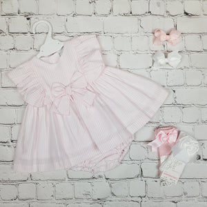 Ceyber Pink Stripe Baby Dress
