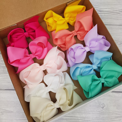 Summer Bow Box Bundle 4inch Headbands