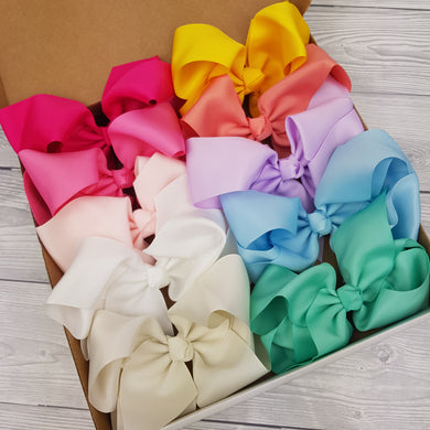 Summer Bow Box Bundle 6inch clips