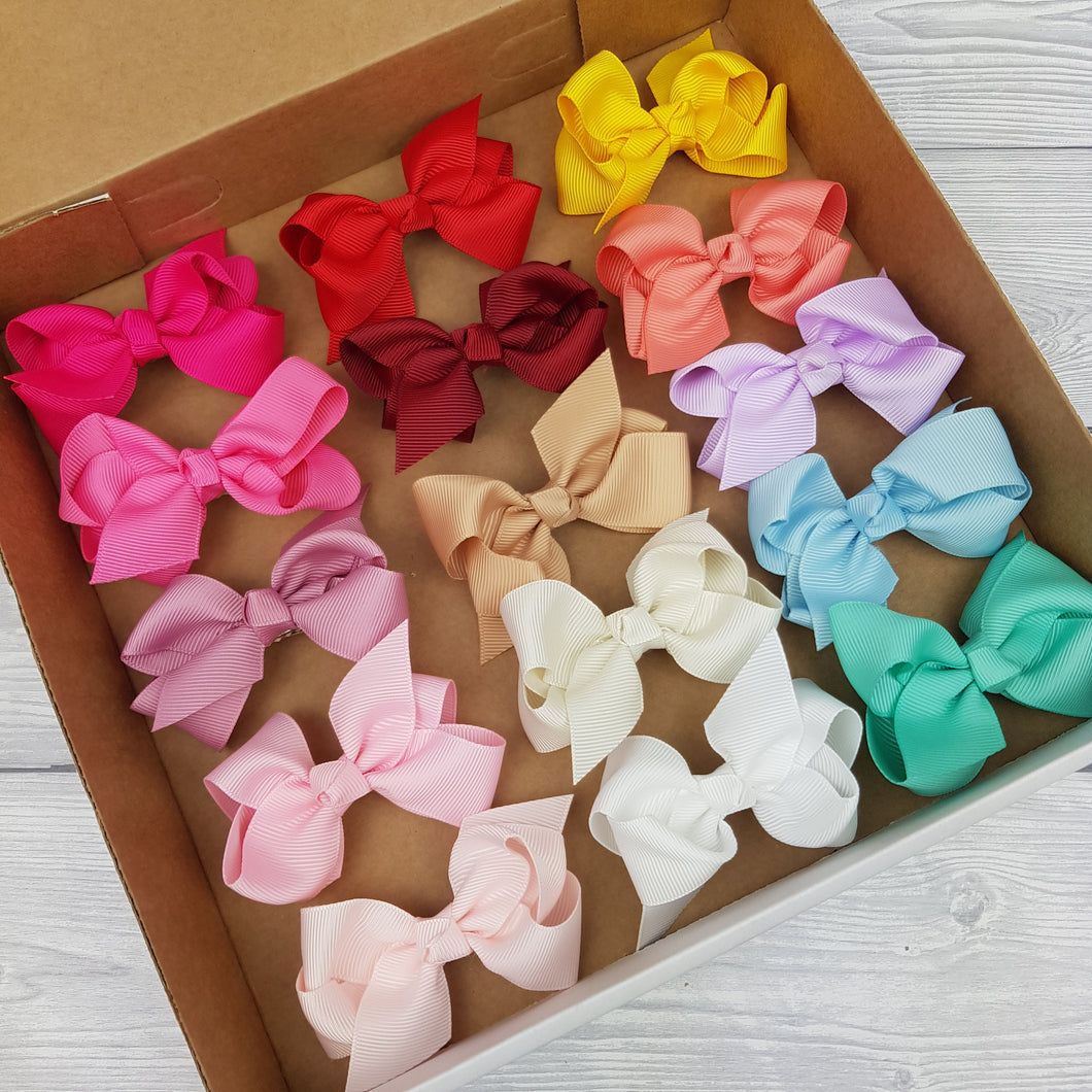 Summer Bow Box Bundle 2inch clips