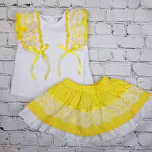 Load image into Gallery viewer, WM Yellow Skirt Set