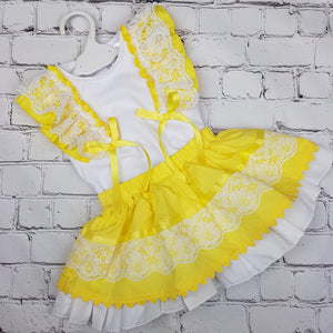 WM Yellow Skirt Set