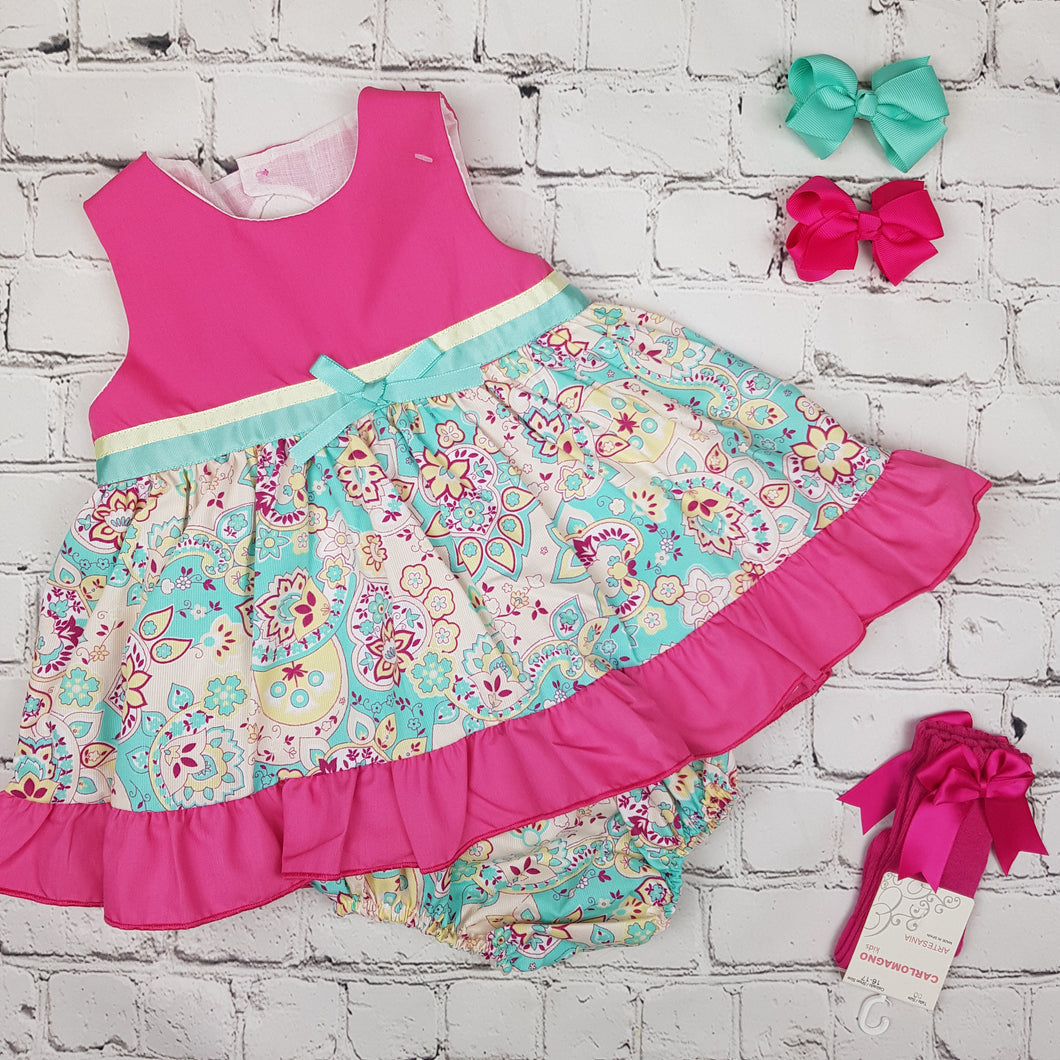 Ceyber Hot Pink Baby Dress