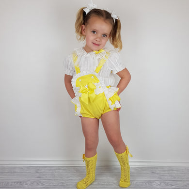 WM Yellow Romper Set