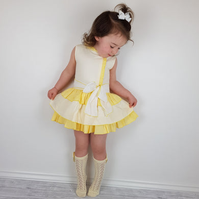 Ceyber Girls Lemon Dress