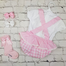 Load image into Gallery viewer, Calamaro Pink Gingham Jam Set
