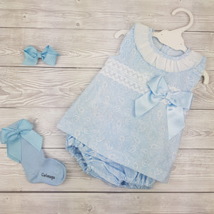 WM Blue Dress Set