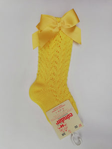 Condor Yellow Summer Sock