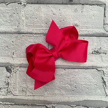 Load image into Gallery viewer, Hot pink Hair Bow