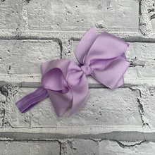 Load image into Gallery viewer, Lilac Hair Bow