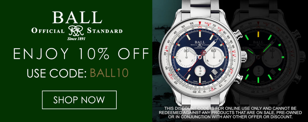 Ball Watches Discount Code