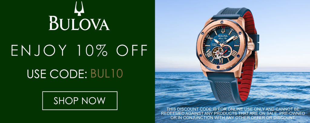 Bulova Watches Discount Code
