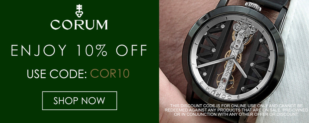 Corum Watches Discount Code