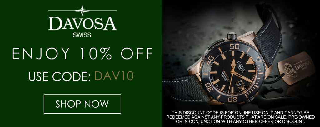 Davosa Watches Discount Code