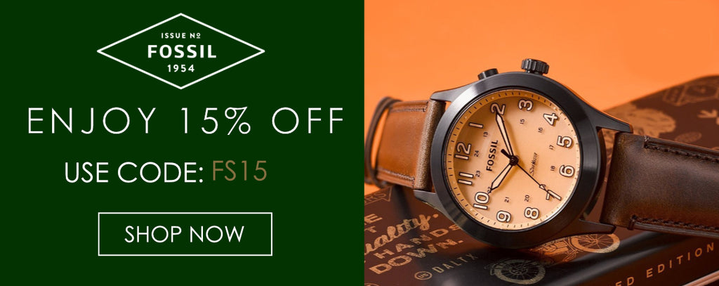 Fossil Watches Discount Code