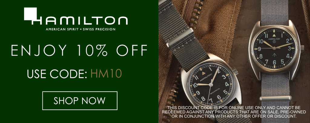 Hamilton Watches Discount Code
