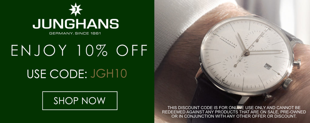 Junghans Watches Discount Codes