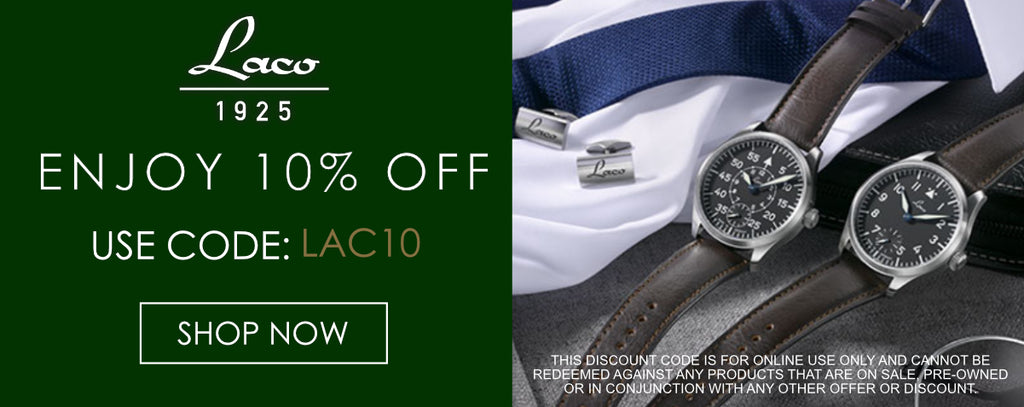 Laco Watches Discount Code