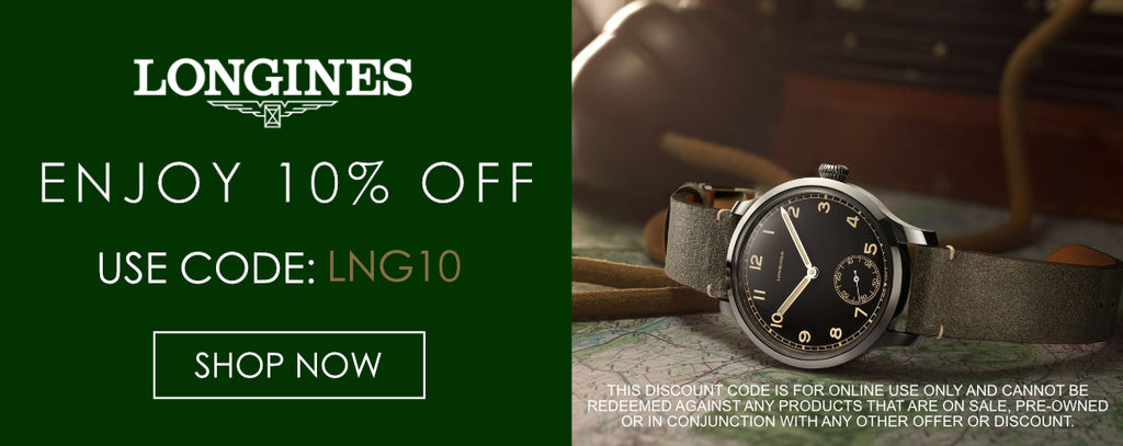 Longines Watches Discount Code