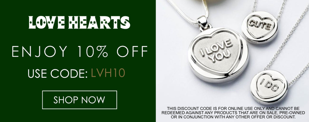 Love Hearts Jewellery Discount Code